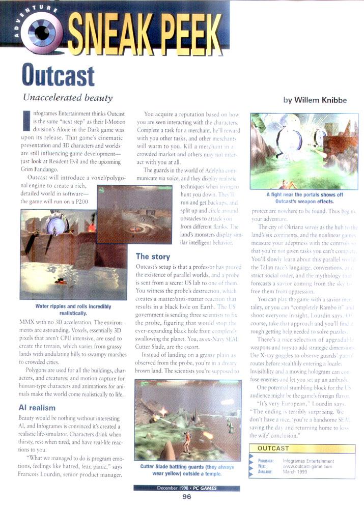 Couverture du magazine Edge sorti en juin 1998 (PDF)