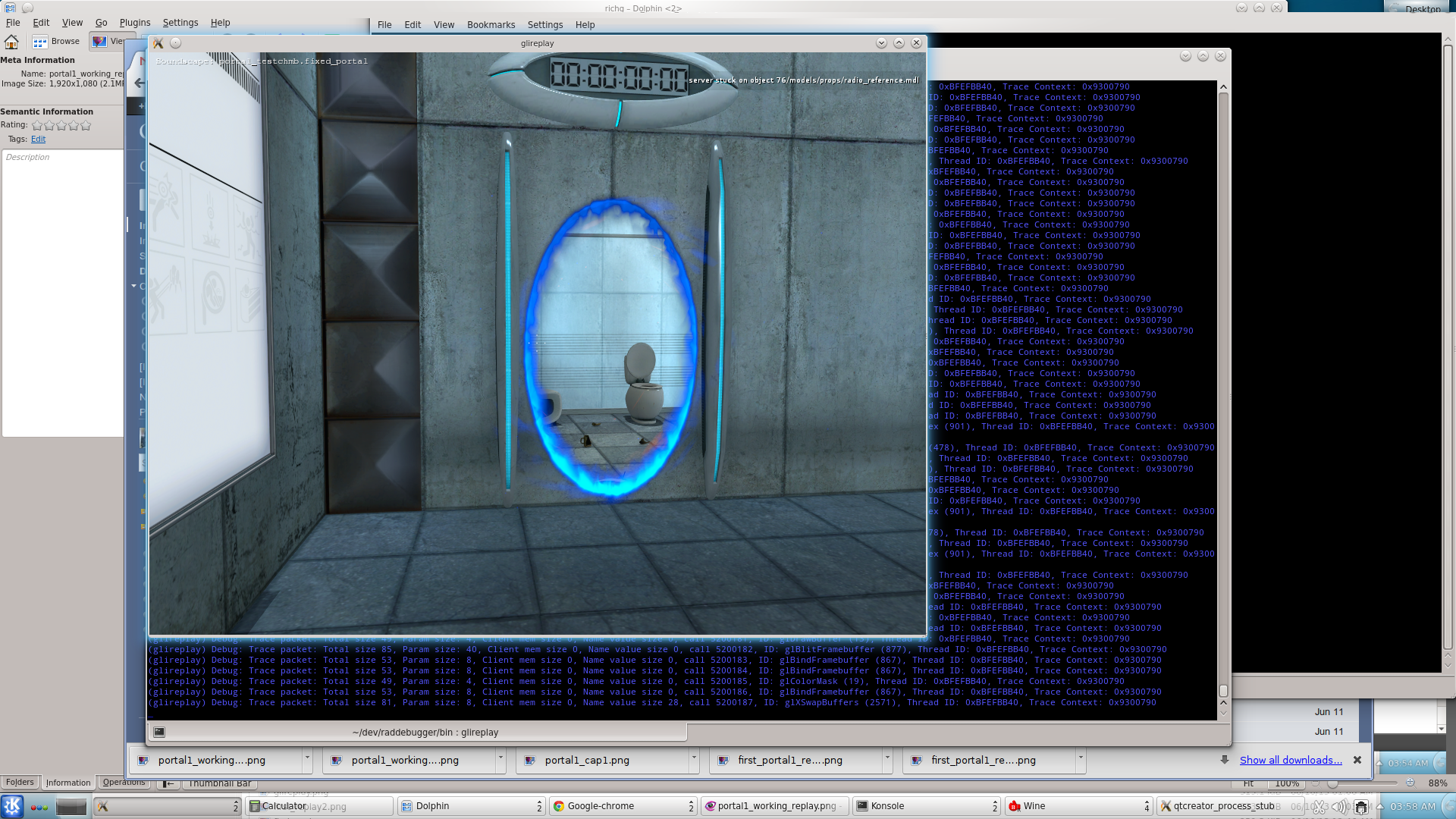 Resume 3 d graphics opengl direct linux