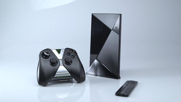 Nvidia pr sente une nouvelle console de salon embarquant un tegra x1 et tournant sur android tv - Console de salon android ...